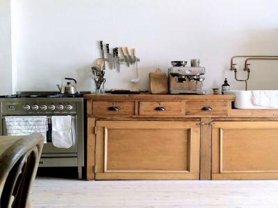Retro nội thất căn bếp nhà bạn