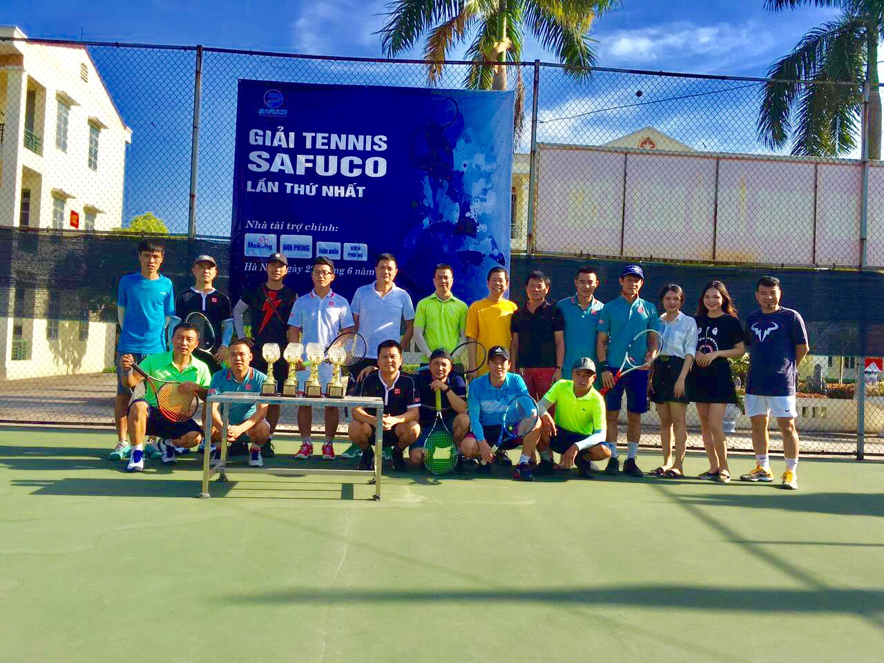 Giải Tennis Safuco Lần thứ I